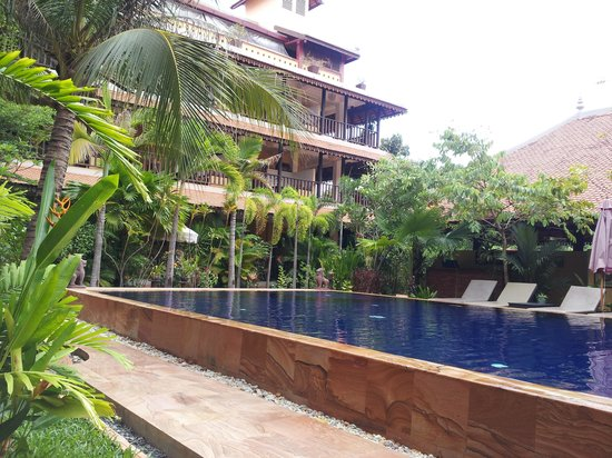 Siddharta Boutique Hotel: By the pool
