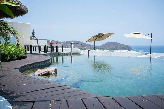 Tentaciones Hotel: Pool view