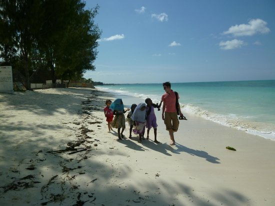 Coral Rock Zanzibar: The beach