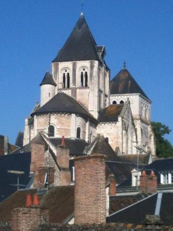 Grand Hotel Saint Aignan: view from our room