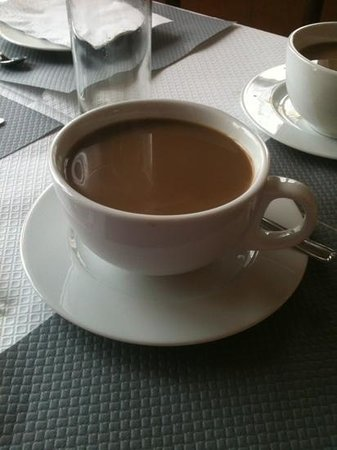 Grand Hotel Saint Aignan: A very large and lovely 'cup' of coffee