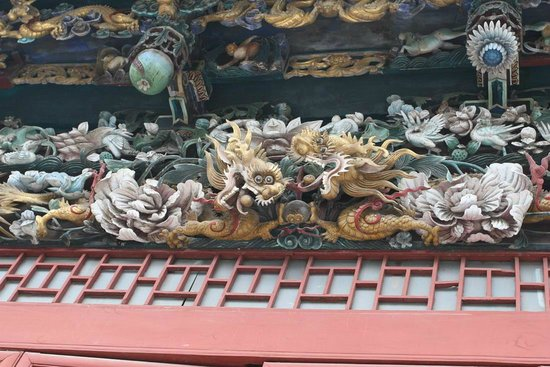 Shanxi, Shaanxi and Gansu Province Hall: wood carving