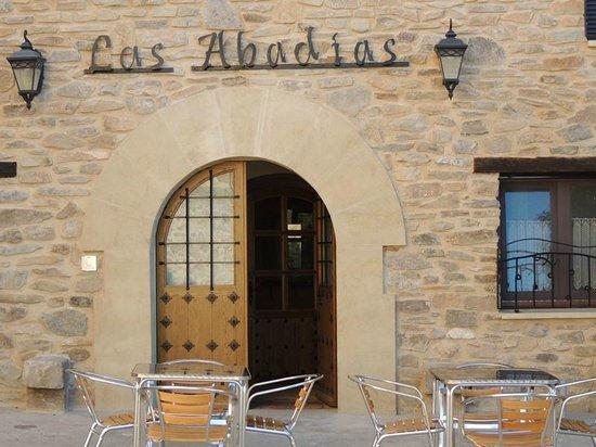 Las Abadías: fachada