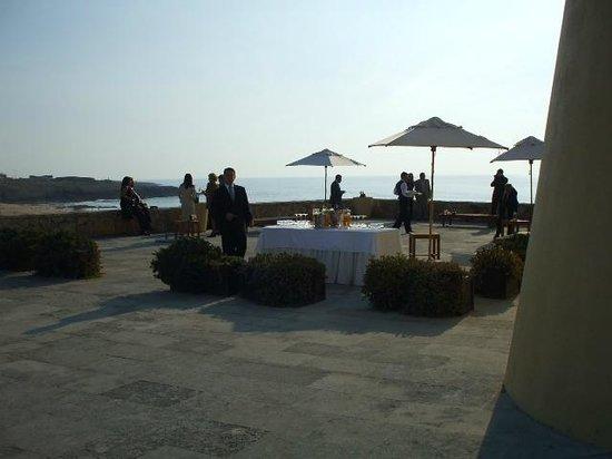 Fortaleza do Guincho: Terrace