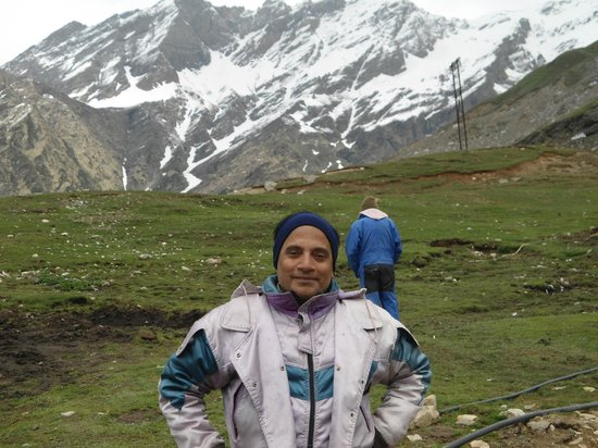 Rohtang P What A Nice Mountain View