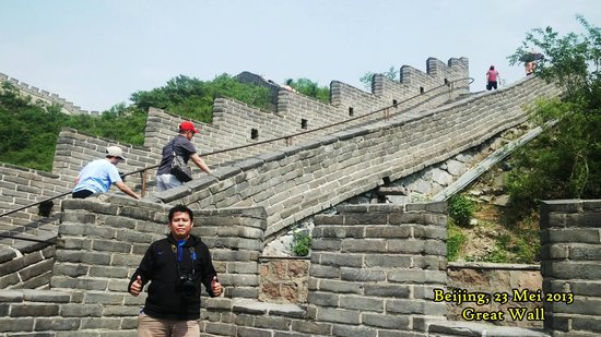 Changping Ancient Great Wall of Yan Ruins : Pendakian