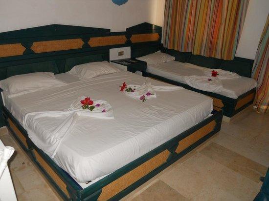 Hotel El Fell : Chambre après le mécontentement...