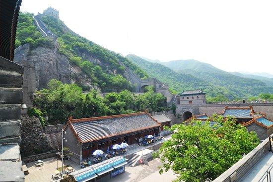 Changping Ancient Great Wall of Yan Ruins : Pemandangan yg asri