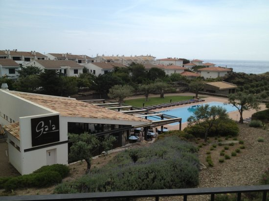 Hotel Sol Ixent: Views from the balcony.