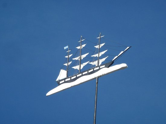 la banderuola della cappella Seamen's Bethel