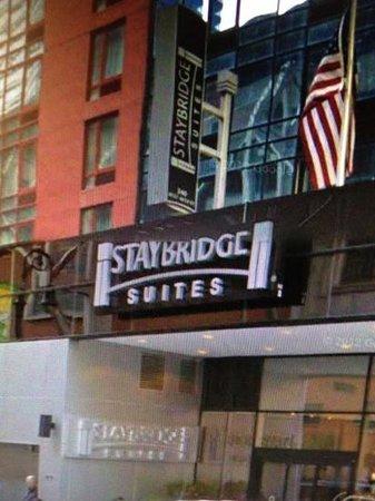 staybridge suites times square picture of staybridge. Black Bedroom Furniture Sets. Home Design Ideas