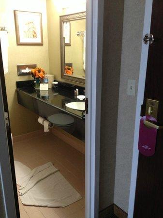 Radisson Hotel Cromwell: sink