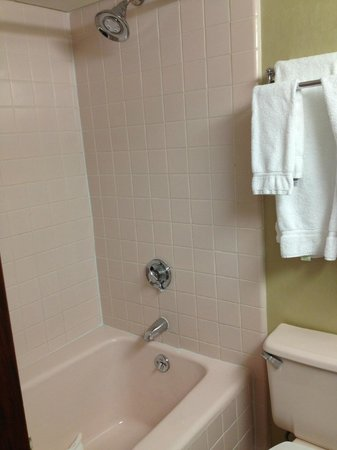 Radisson Hotel Cromwell: shower - weak water pressure