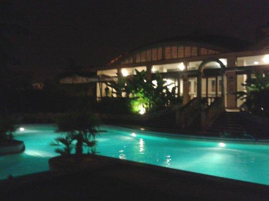 Abano Ritz Terme: piscina termale esterna
