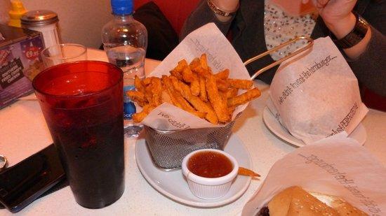Eddie Rocketu0027s City Diner: Patate Dolci Americane Fritte