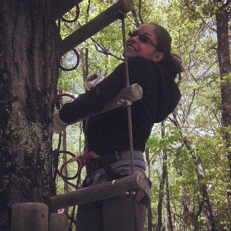 Skytop Lodge's Adventures: Ziplining!
