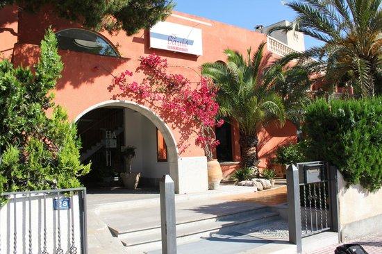 Es Baulo Petit Hotel: Eingangsbereich Hotel