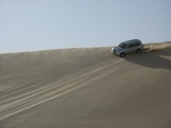 Khor Al Udeid : en route