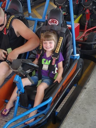 Rockin' Raceway Arcade: Loves the Go Carts!