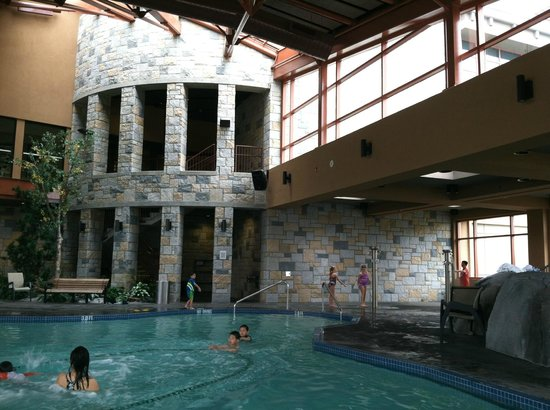 Indoor Pool Picture Of River Rock Casino Resort Richmond Tripadvisor