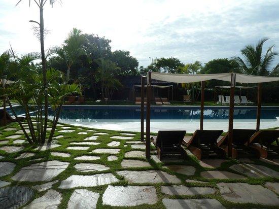 Resort La Torre: Vista da varanda da minha suíte.