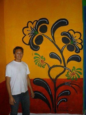 hostel La Casa del Tio Rafa : mi idea para la recepcion