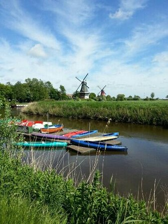 Zwillingsmuehlen in Greetsiel
