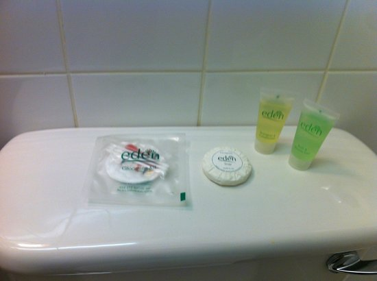 Lawrence House Hotel: Toiletries