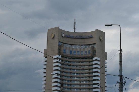 InterContinental Bucharest : Bâtiment principal