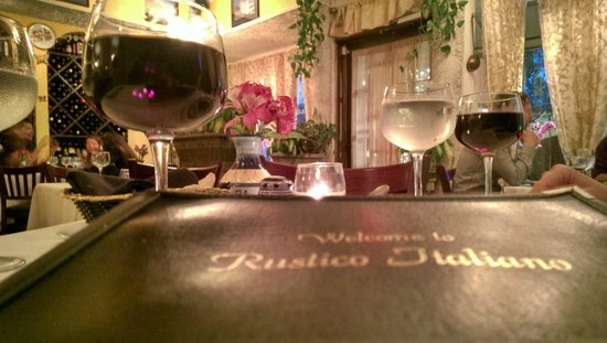 Rustico Italiano Restaurant : Our Table Was Great!