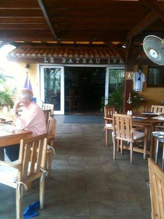 Le Bateau Ivre : inside dining room