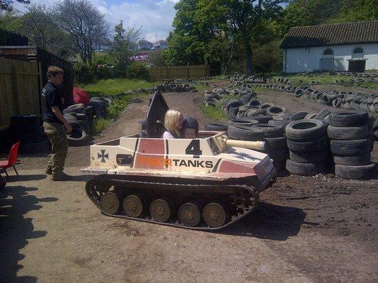 Crazy Combat: Tank