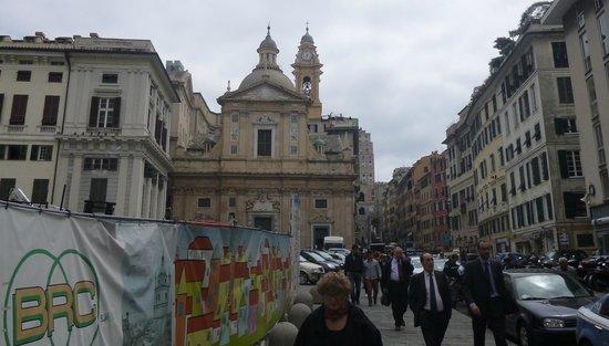 Palazzo Ducale : К Дуомо (см. следующий фоторассказ)