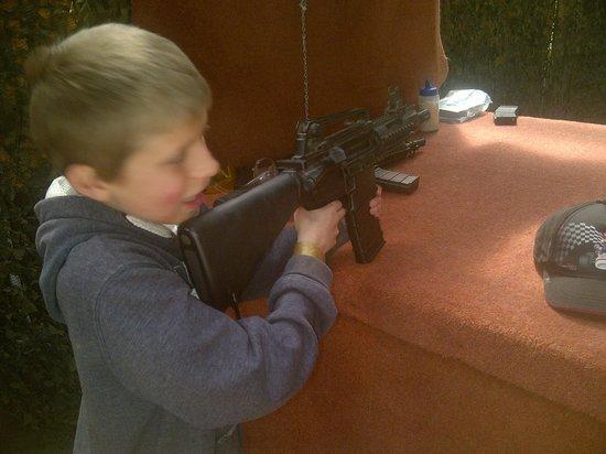 Crazy Combat : Shooting range