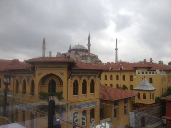 Istanbul Hostel: View from the rooftop!