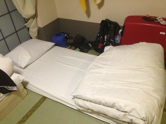 Tour Club : Il letto (le apparenze inganno, è veramente comodo!)