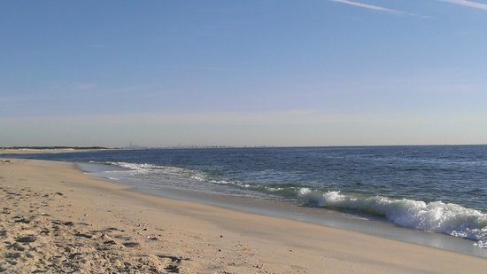 beaches near jersey city