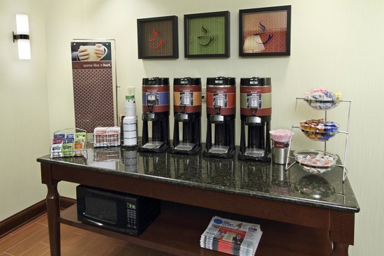 Hampton Inn Jasper : Coffee Bar