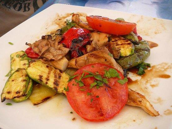 Thalassographia: légumes grillés