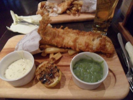 The Old Explorer: Fish&chips