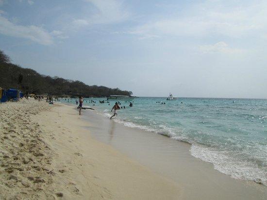 Isla Baru, Kolumbia: Playa Blanca-Baru