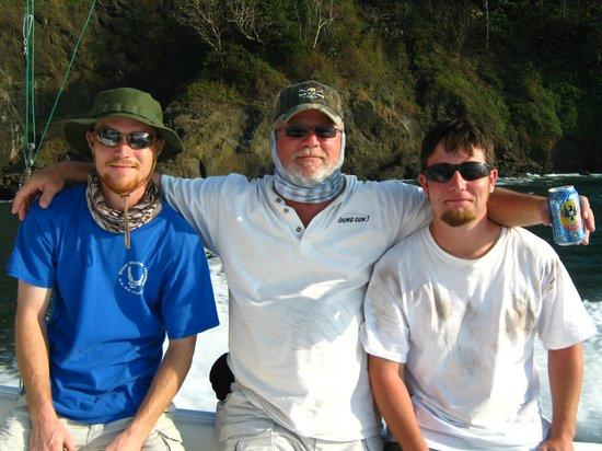 Costa Rica Sport Fishing on the Predator: Trio of Tired Puppies