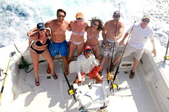 Panoply Sport Fishing & Luxury Charters: Jeanette, Ben, Keegan, Carolyn, George, AJ & Trish!  F/V Panoply Provo, TCI