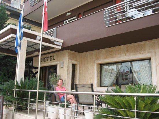 Hotel Honorata: Фасад отеля