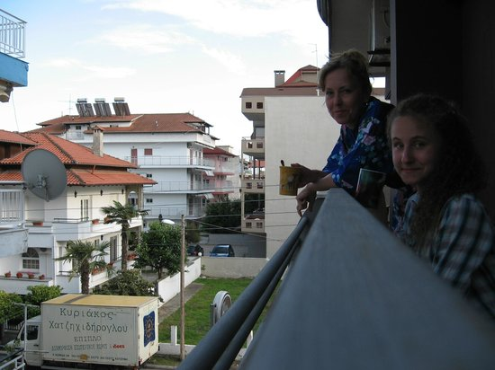 Hotel Honorata: На балконе