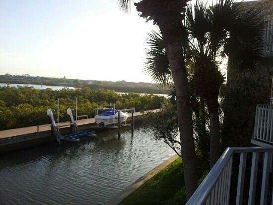 Legacy Vacation Resorts-Indian Shores: view from balcony