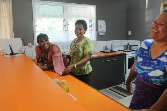 Riverside Samoa: Litara and Vito with my sister Ipu