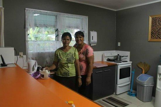 Riverside Samoa: The beautiful ladies of the house