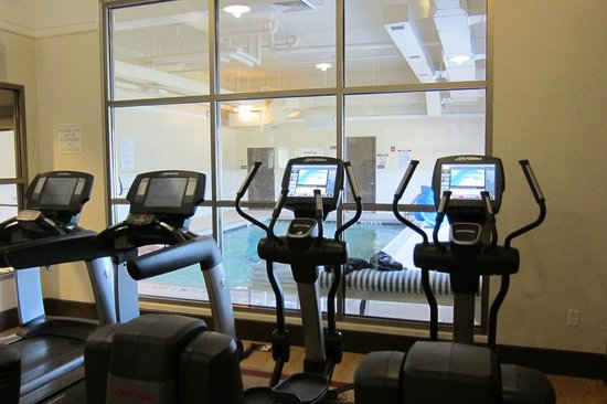 Sheraton Jacksonville: Exercise room and indoor pool