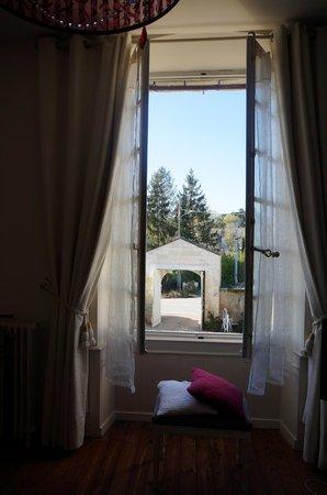 Demeure de Beaulieu: View from room